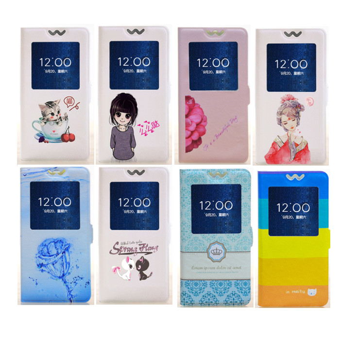 Flip Cover Motorola Moto G4 Play G 4 5.0 inch phone case cartoon paint painted stand  -  Q&J Phone accessories Store store