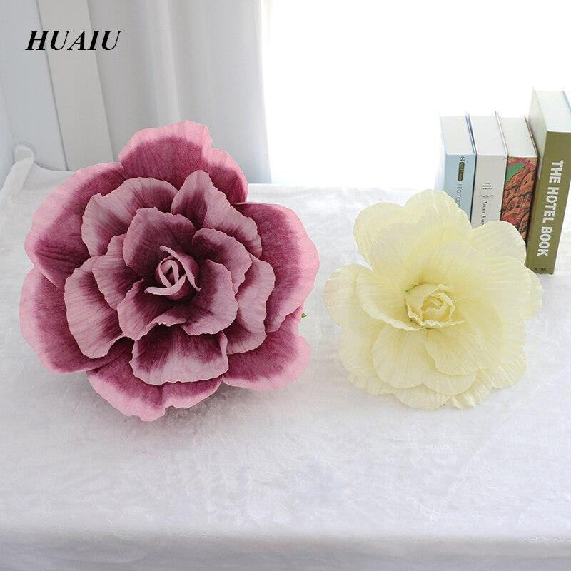30 / 50cm umjetno cvijeće ruža veliki umjetno cvijeće pozadina - Za blagdane i zabave - Foto 1