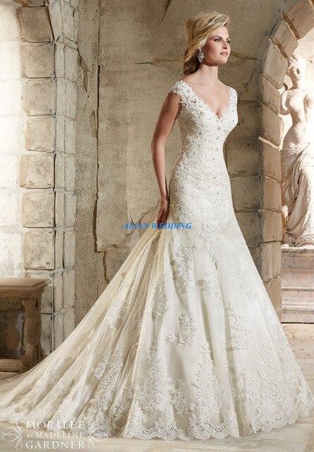 Imagenes vestidos de novia sirena