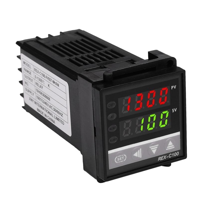 48 * 48 mm-es digitális hőmérséklet-szabályozó termosztát K / - Mérőműszerek - Fénykép 2