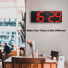 3D LED Wall Clock Modern Digital Table Desktop Alarm Nightlight Home Decoration Living Room Watch