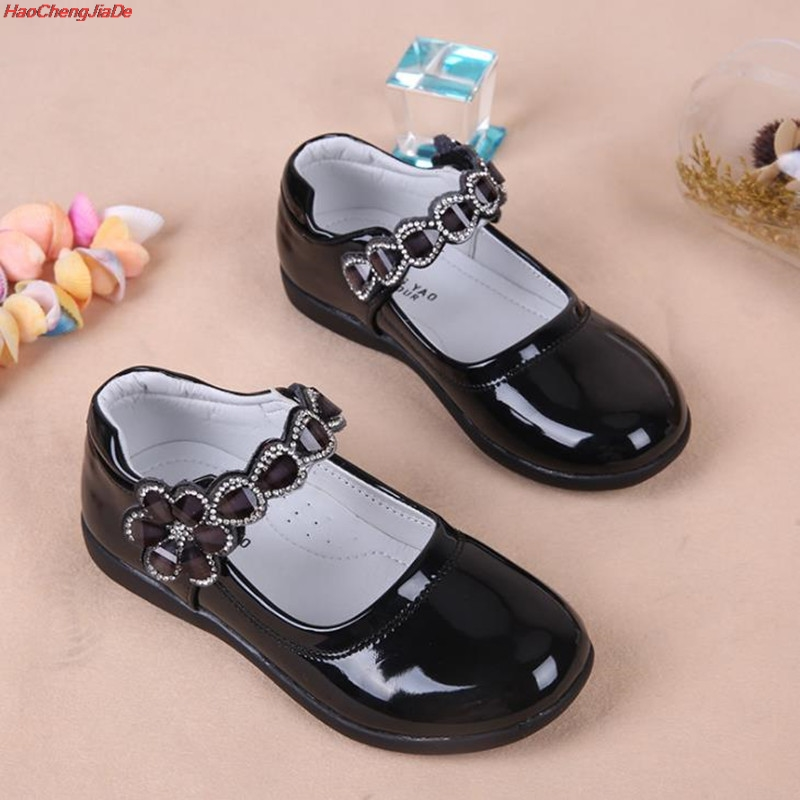 Kids Girls Shoes Lovely Lace Flowers Leather School Girls Dress Shoes Spring Autumn Wedding Party Dress Shoes For GirlsKids Girls Shoes Lovely Lace Flowers Leather School Girls Dress Shoes Spring Autumn Wedding Party Dress Shoes For Girls