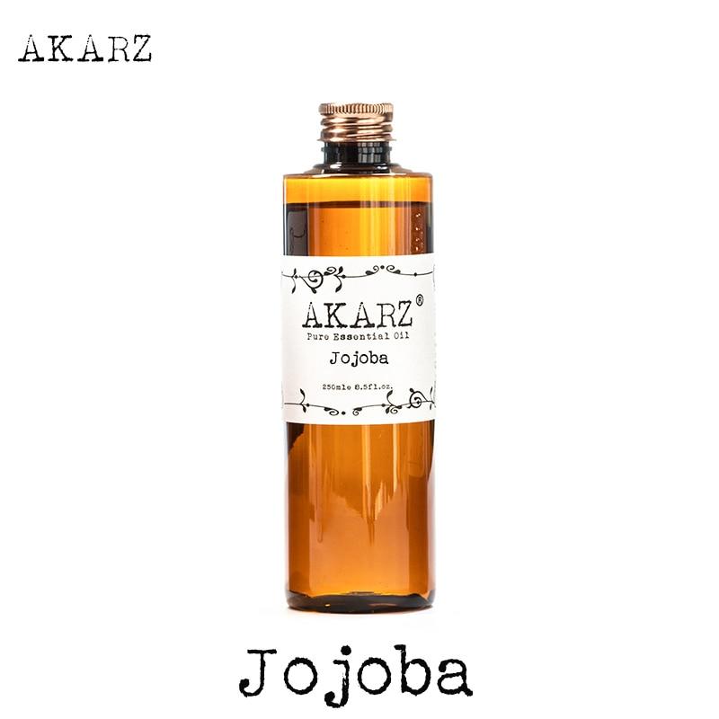 AKARZ العلامة التجارية الشهيرة زيت الجوجوبا الروائح الطبيعية عالية السعة العناية بالبشرة تدليك الجسم زيت الجوجوبا الأساسي