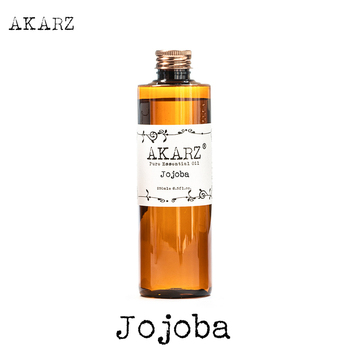AKARZ Famous brand Jojoba oil natural aromatherapy high-capacity skin body care massage spa Jojoba essential oil фото