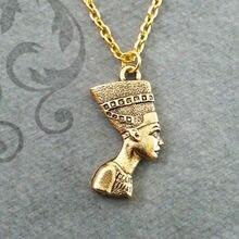 Новая цепочка с подвеской Фараона eqyptian «Нефертити» Великая