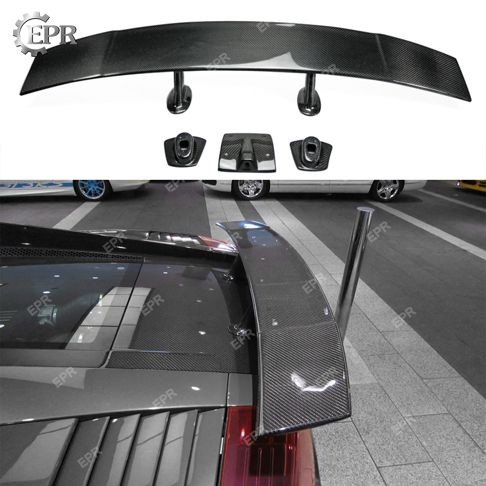 Auto Replacement Parts Exterior Parts Provided For Lamborghini Gallardo Lp550 Lp570 Dmc Toro Style Carbon Fiber Rear Spoiler Body Kits Trim Accessories Gallardo Rear Wing Lip Diversified In Packaging