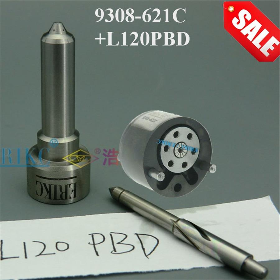 ERIKC Valve 9308-621C Nozzle L120PBD Repair kits 7135-647 Injector Valve Nozzle for Inyector EJBR04001D EJBR01801A EJBR01801Z
