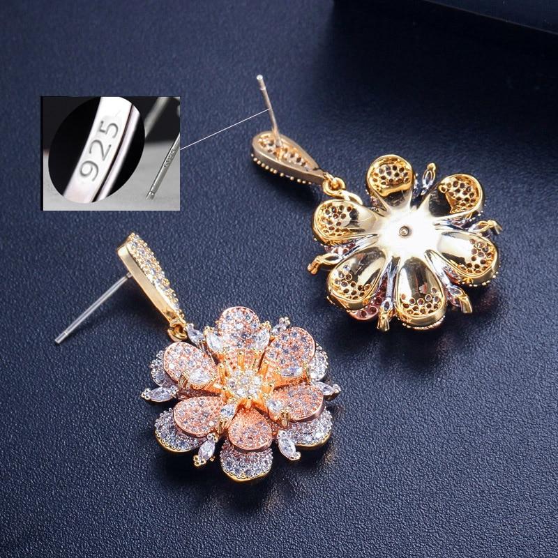 flower drop earrings7