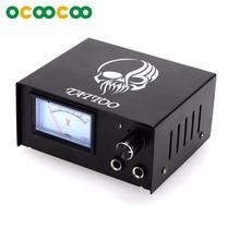 D400 Высокая стабильность питания CE+ RoHS соответствие с указателем дисплей для всех тату-машин-черный