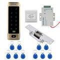 Водонепроницаемый металлический сенсорный 8000 пользователей дверь RFID Управление доступом Клавиатура чехол ридер без электрического замка