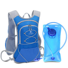 15L Nylon Waterproof Bicycle Hydration Pack Water Backpack Breathable Large Capacity Bike Bags Cycling Backpack