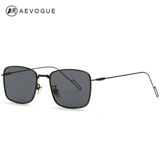 13b0ceacf2 AEVOGUE Square Frame Polarized Sunglasses Men Polaroid Lens Sun Glasses  Summer Style Oculos Masculino Gafas De Sol UV400 AE0274