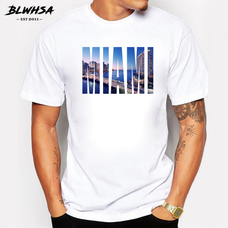 2018 Fashion T Shirts For Men Printing Ftp Designs T: Aliexpress.com : Buy BLWHSA 2018 New Arrive Men T Shirt