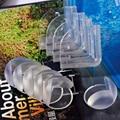 Bebé transparente Ángulo anticolisión PVC Suave Engrosamiento Esférico Esquina Muebles Gato Cara de la Sonrisa de Los Niños Seguridad Esquinas