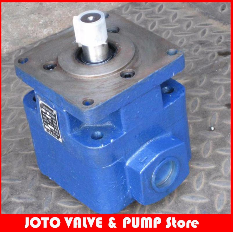 YB1-16 single league vane pump lubrication pump gear oil pump low pressure pump 6.3MPA quality hydraulic pump vp 20 low pressure variable vane pump vp 15 long warranty period vp 12