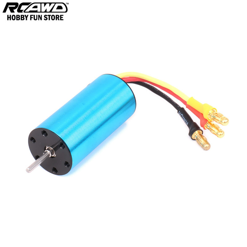 RCAWD HSP 1/16 2040 Servo Brushless Motor KV4800 For Rc Hobby Car 1/16 HSP Monster Truck Short Course 28470 94186 94286 rc car pro spare parts accessories brushless motor kv4450 for hsp 1 16 buggy 94185pro 94186pro part no 28470