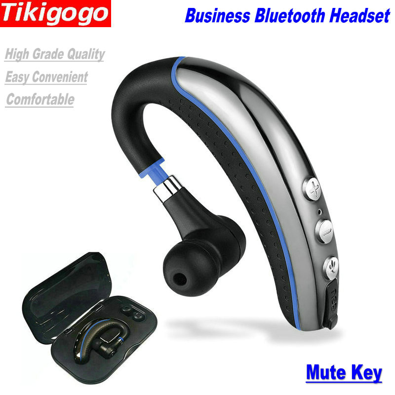 Handsfree Business Bluetooth Headset With Mic Voice: Tikigogo A8 Better Than K10 Handsfree Business Bluetooth