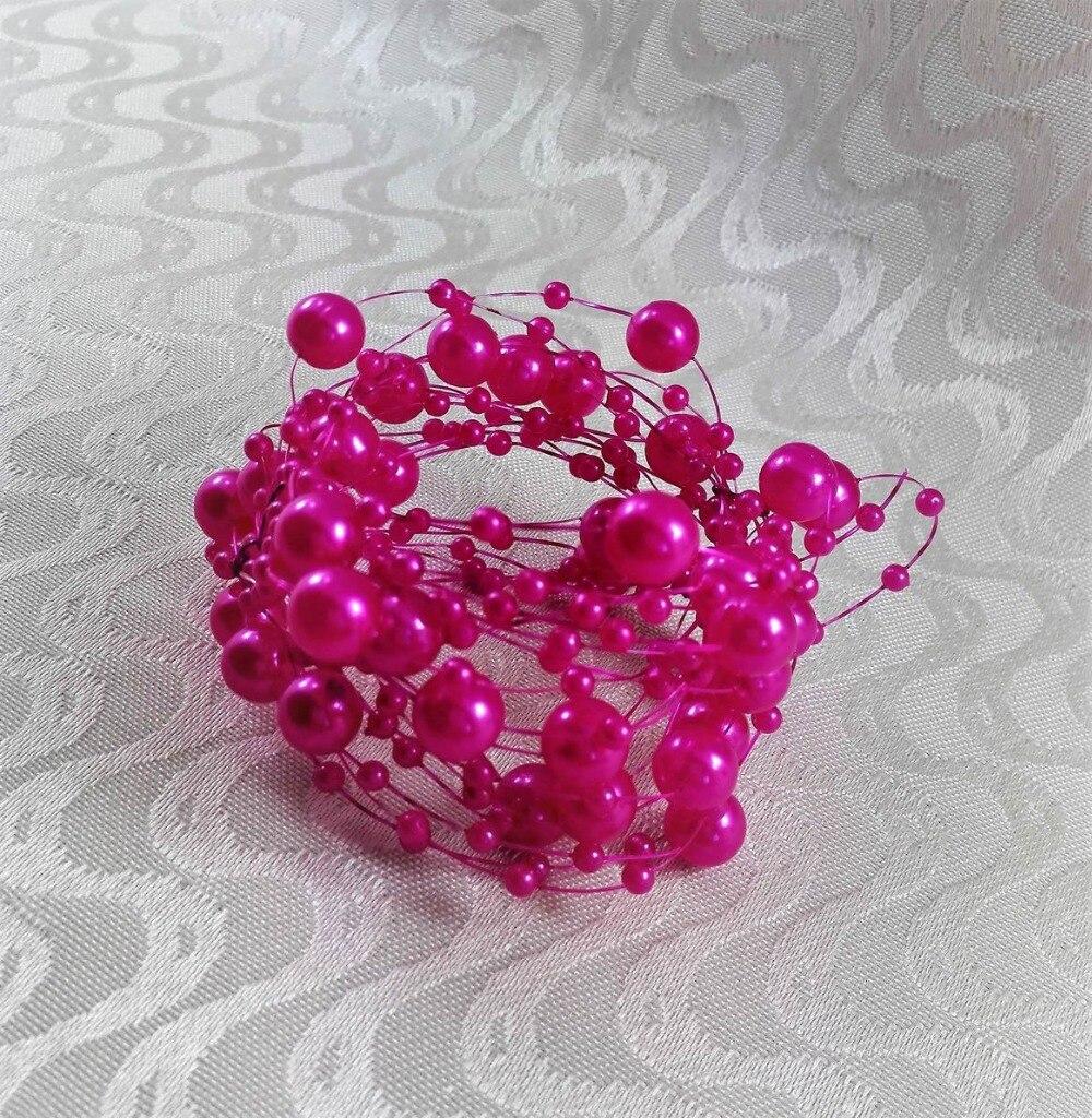 free shipping crystal napkin ring napkin holder bulk price 12 pcs-in ...