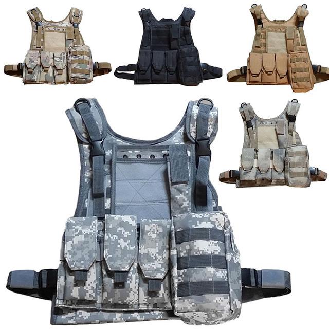 Chaleco táctico swat chaleco sello anfibio Camuflaje Alta calidad de Contraterrorismo cs Entrenamiento de combate de Protección Militar