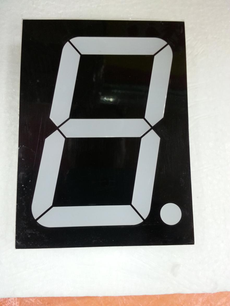 4 inch 7 Seg LED Nixietube 1 Digital Tube Segment