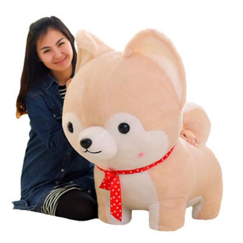 Fancytrader 3d Animal Corgi Plush Pillow Shiba Inu Dogs Toy Cartoon
