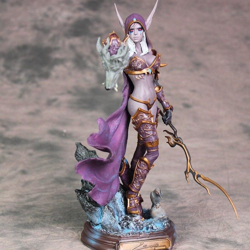Figurine en PVC de 23 cm Sylvanas, tir à l'arc, reine nendoroïde