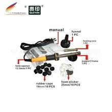 RTT-13.5BK) отверстие бурильщика экскаватора и пены стикер Заглушка Крышка для hp для samsung для canon тонер картридж заправка набор инструментов