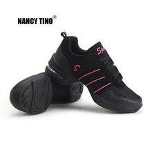 Nancy tino/спортивная обувь с мягкой подошвой дышащие Танцевальные