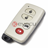BRAND NEW Remote Key Shell Dla Toyota Avalon Camry KEYECU Sequoia Case Fob 4 Przycisk Z Wkładką Mały Klucz Ostrze