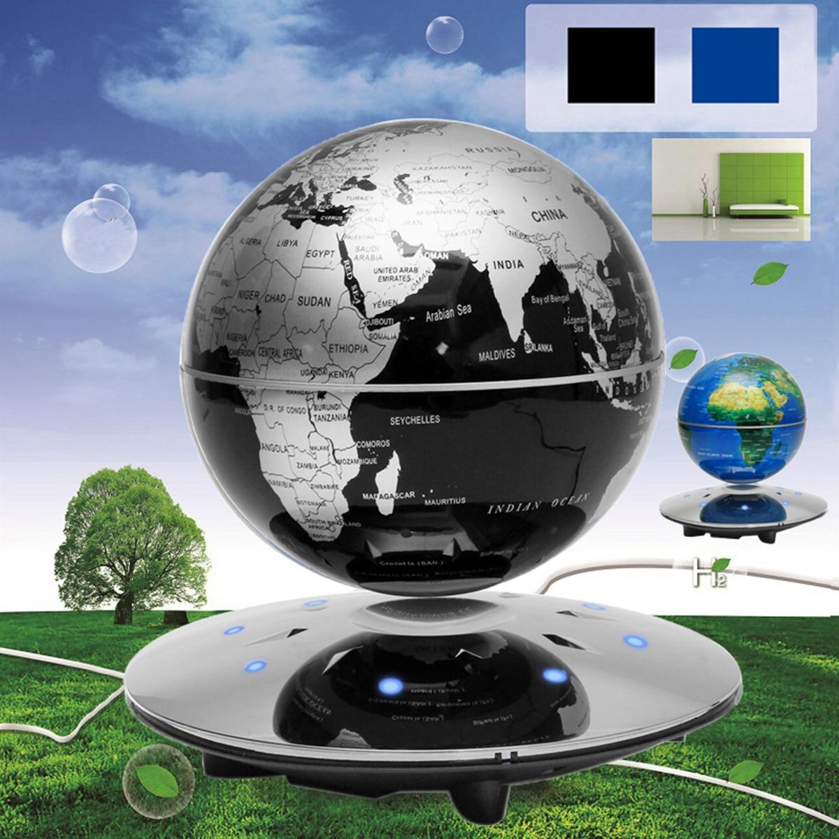 Magnetic Levitation Floating Globe World Map Anti-gravity earth Globe School Suppliees Home Office Desk Decoration рюкзак globe globe gl007bmbemv6