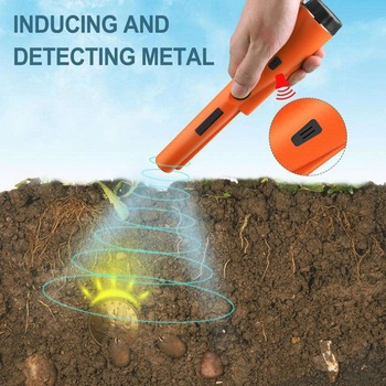Security Handheld Metal Detector Metal Detector Portable Detection Security Instrument Handheld Metal Detector