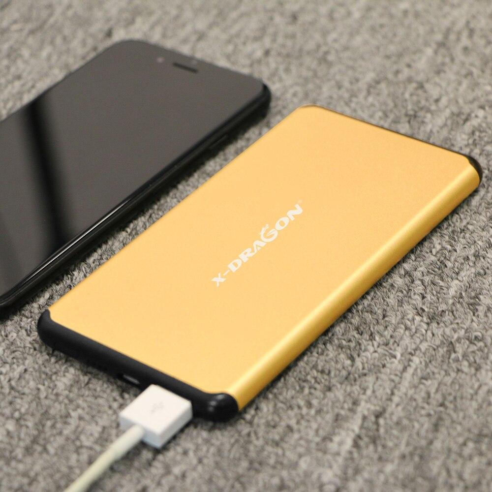 5000 mah Portable Chargeur Externe Batterie Poverbank pour iPhone 6 7 Samsung Tablet Mobile Téléphone Xiaomi Oppo LG HTC