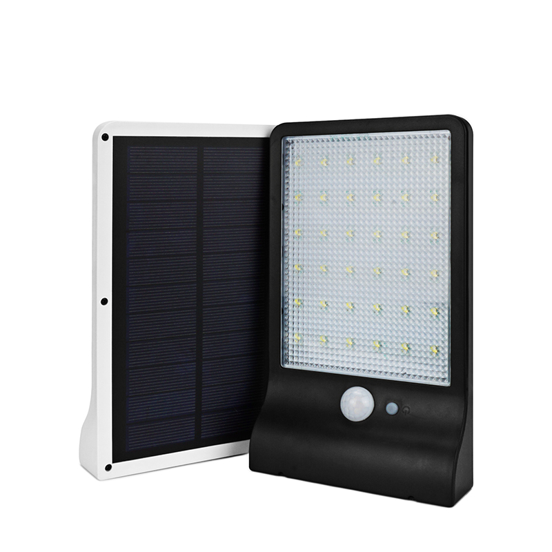 Solar Rechargeable LED Solar Power Street Light PIR Motion Sensor Lamp Garden Security Lamp Outdoor Street Waterproof Wall Light arilux 4 4w 100 led solar wall lamp light pir motion sensor outdoor waterproof garden security street light with 3 modes