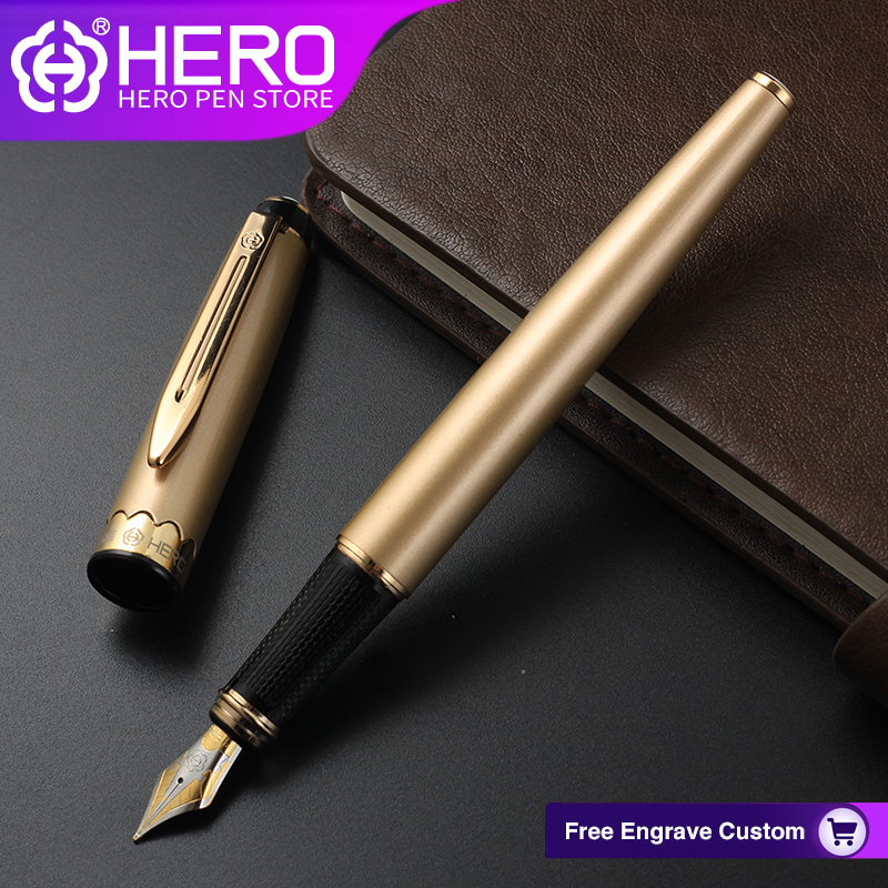 Hero Fountain Pens Original Authentic Writing Supplies Iraurita 0.5mm 0.8mm LuxuriousHigh-end Gift Box Smooth Writing Pens 1075 настенный светодиодный светильник nowodvorski fraser 6945