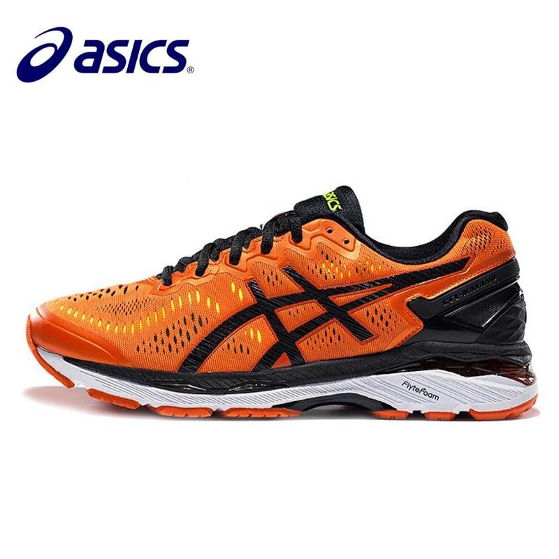Nouvelle offre spéciale ASICS GEL-KAYANO 23 T646N homme baskets chaussures de sport baskets confortable en plein air athlétique extérieur chaussures Hongniu