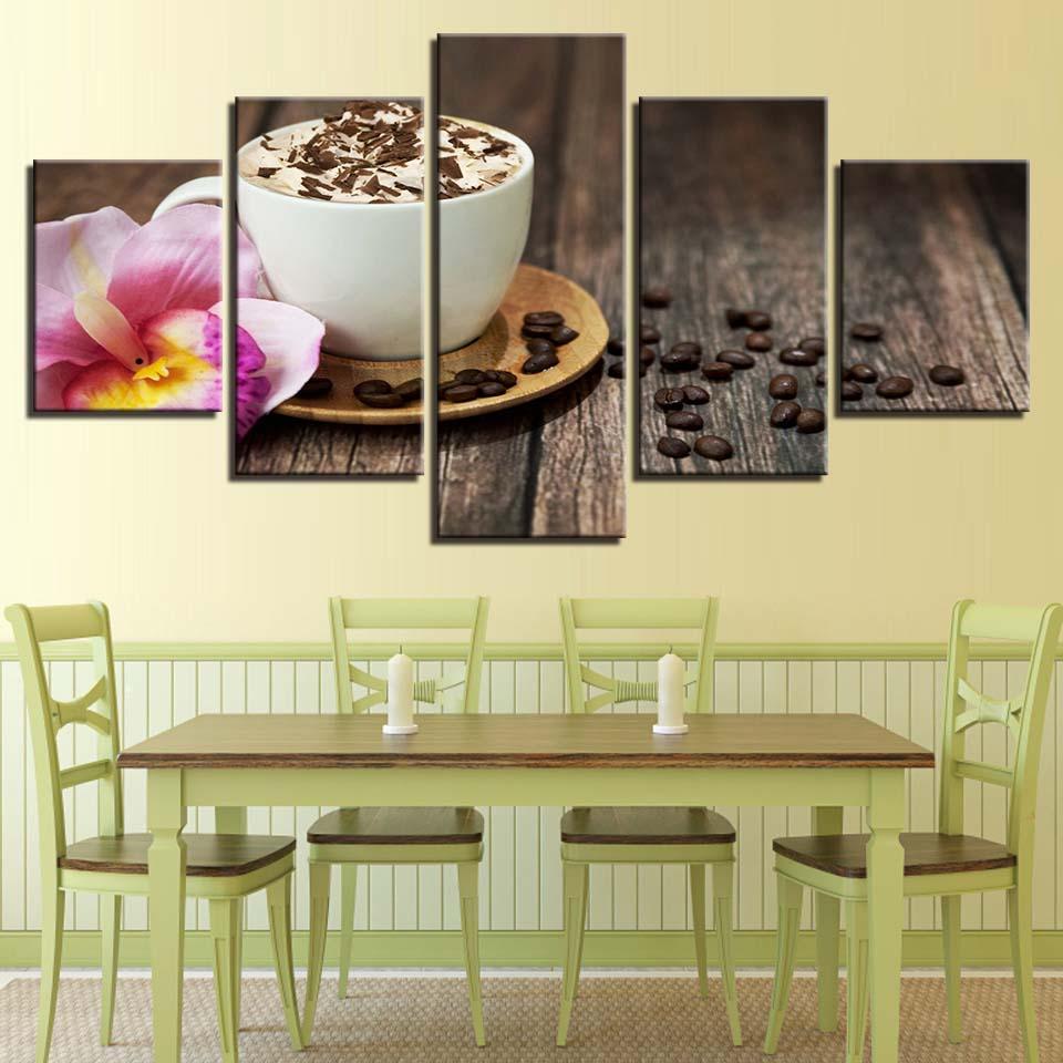 Canvas Paintings Wall Art Framework Kitchen & Restaurant Decor HD ...
