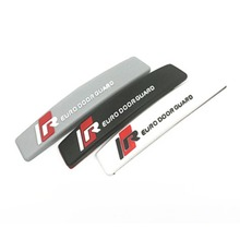 4PCS/SET  Car Edge Door Guard Bumper Protectors Anti-Collision Scratch resistant Anti-rub Decorative Strips