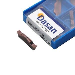 Image 3 - MGGN150 MGGN200 MGGN250 MGGN300 MGGN400 JM Carbide Inserts High Quality Slot Plate Blades cnc lathe Outer Grooving Insert Tool