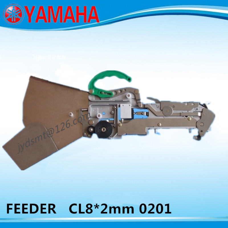 YAMAHA NEW feeder CL8x2 0201 KW1 M1500 XXX green handle FOR YAMAHA YV100X YV100XG YG200 YT16