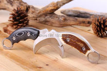 Outdoor Karambit knife Hunting Knives Camping Tool Survival Tactical