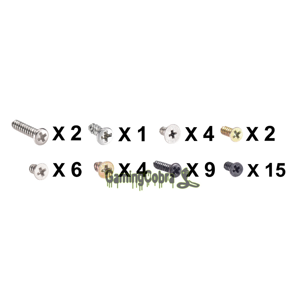 Full One Set Replace Part Console Screws Screw For Nintendo 3DS Host Assemble