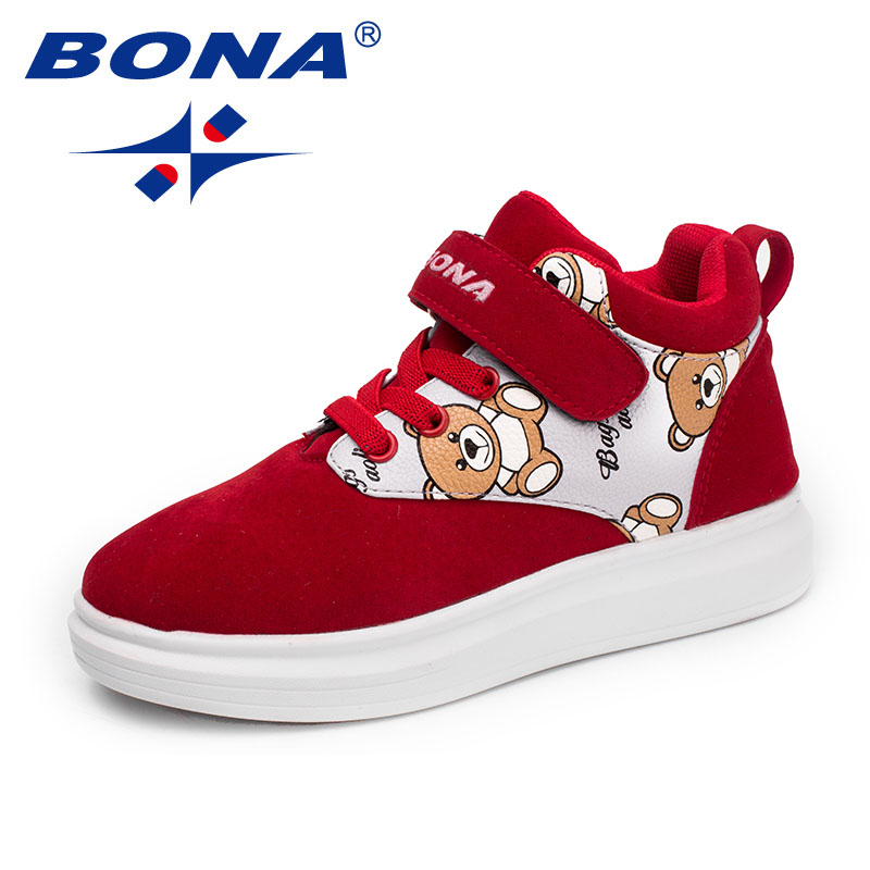 BONA New Arrival Typical Style Children Casual Shoes Hook & Loop Girls Shoes Outdoor Sneakers Comfortable Fast Free ShippingBONA New Arrival Typical Style Children Casual Shoes Hook & Loop Girls Shoes Outdoor Sneakers Comfortable Fast Free Shipping