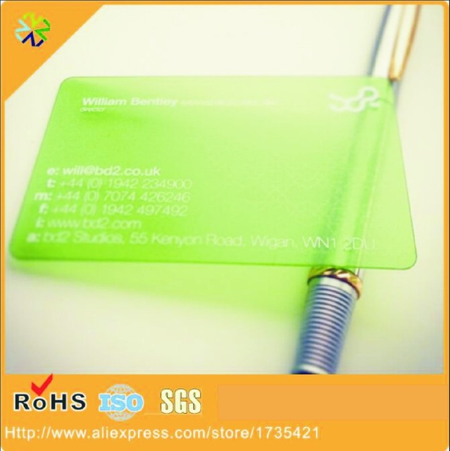 500pcslotpvcplastic custom transparent business cardclear 500pcslotpvcplastic custom transparent business cardclear frosted plastic colourmoves
