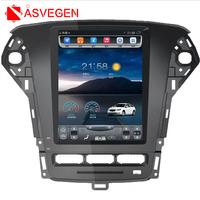 Asvegen 10.4'' Vertical Screen Car Audio Stereo Radio For Ford Mondeo 2011 2013 Android 6.0 DVD GPS Navigation Multimedia Player