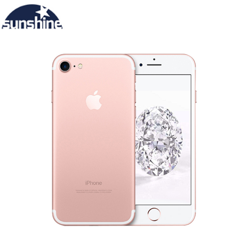 Mobile Phone Apple IPhone 7 Unlocked Original Quad-core 12.0MP Camera 32G/128G/256G Rom IOS Fingerprint Touch ID Phone