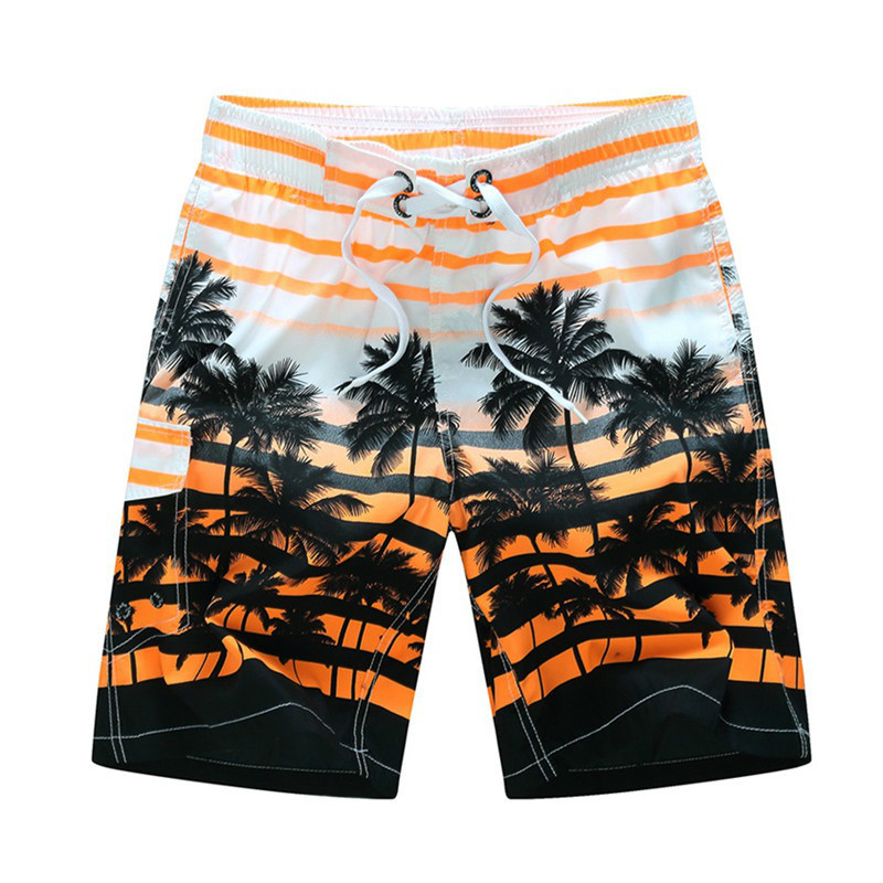 Mortonpart Men   Shorts   M-6XL Summer   Shorts   Men Quick Dry Thin Outdoor Beach Wear Lace-up Loose Surfing   Board     Shorts   Men Swimwear
