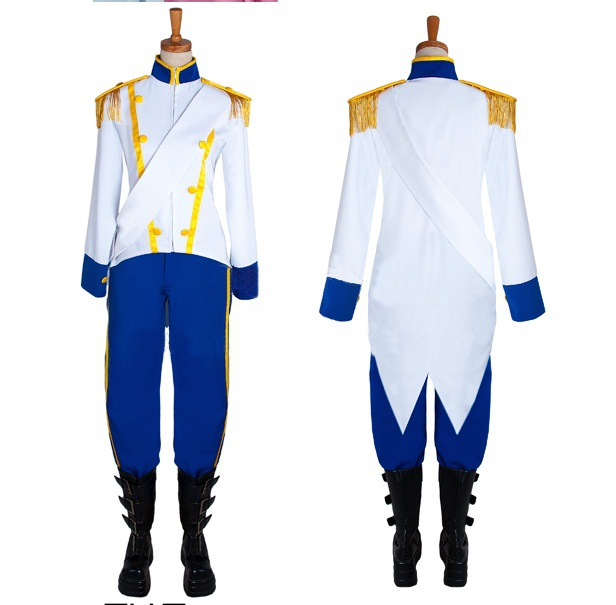 New Arrival The Little Mermaid adult   Prince Eric  Cosplay Costume Custom made Any Size