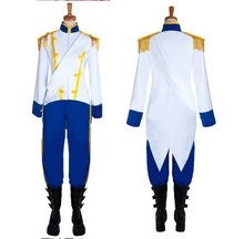 New Arrivel The Little Mermaid adult  Prince Eric Cosplay Costume Custum Any Size