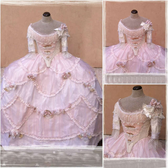 1860S Victorian Corset Gothic/Civil War Southern Belle Ball Gown Dress  Halloween dresses CUSTOM MADE R617