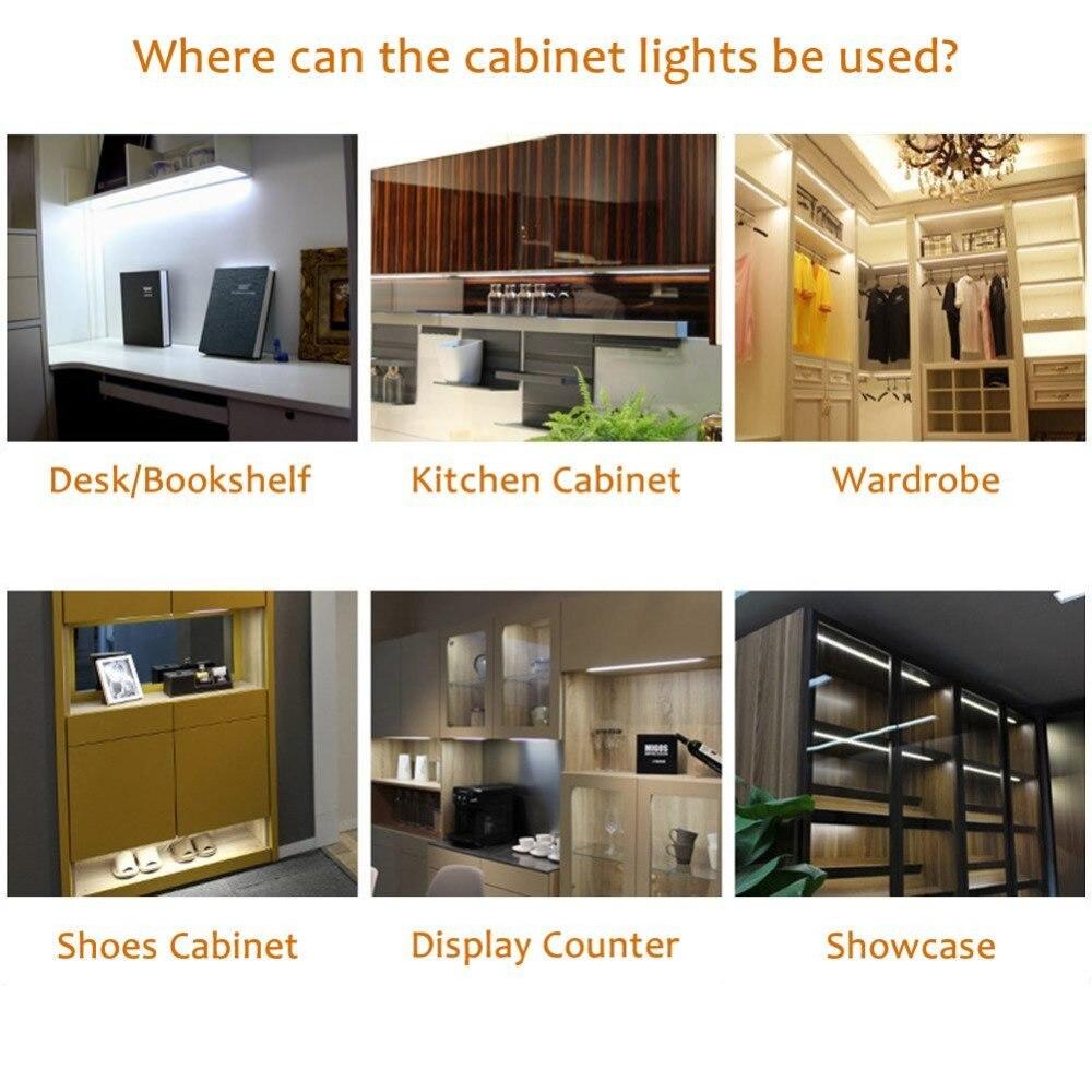 6 lights cabinet lighting white cord (5)